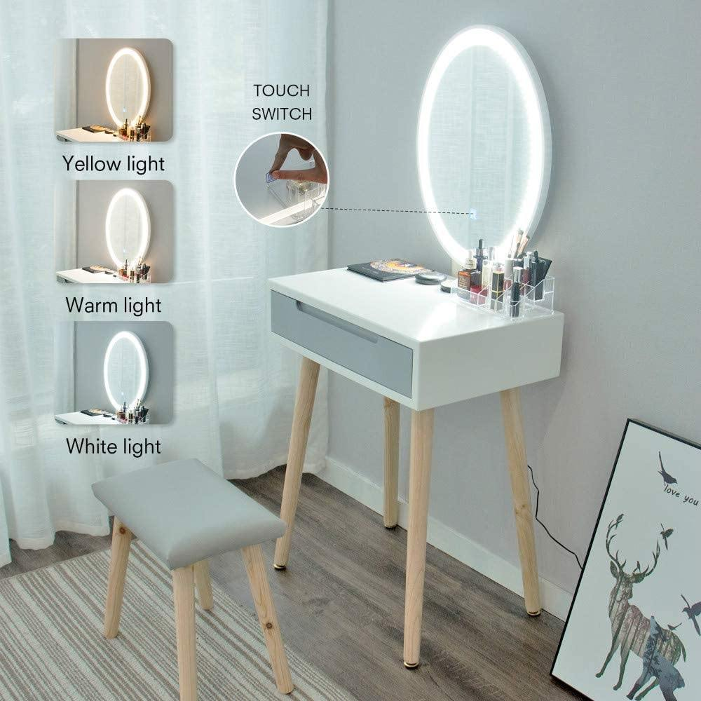 Makeup Dressing Table Set - Elecwish
