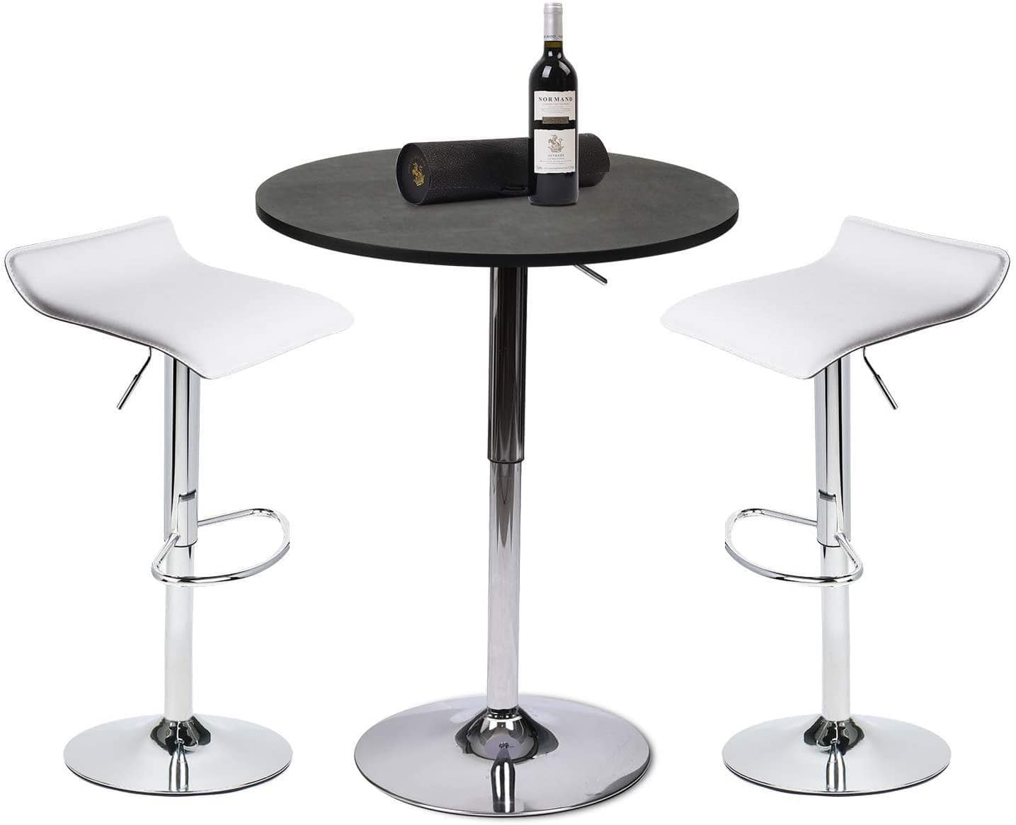 Puloumis Bar Table And Barstool - Set Of 3