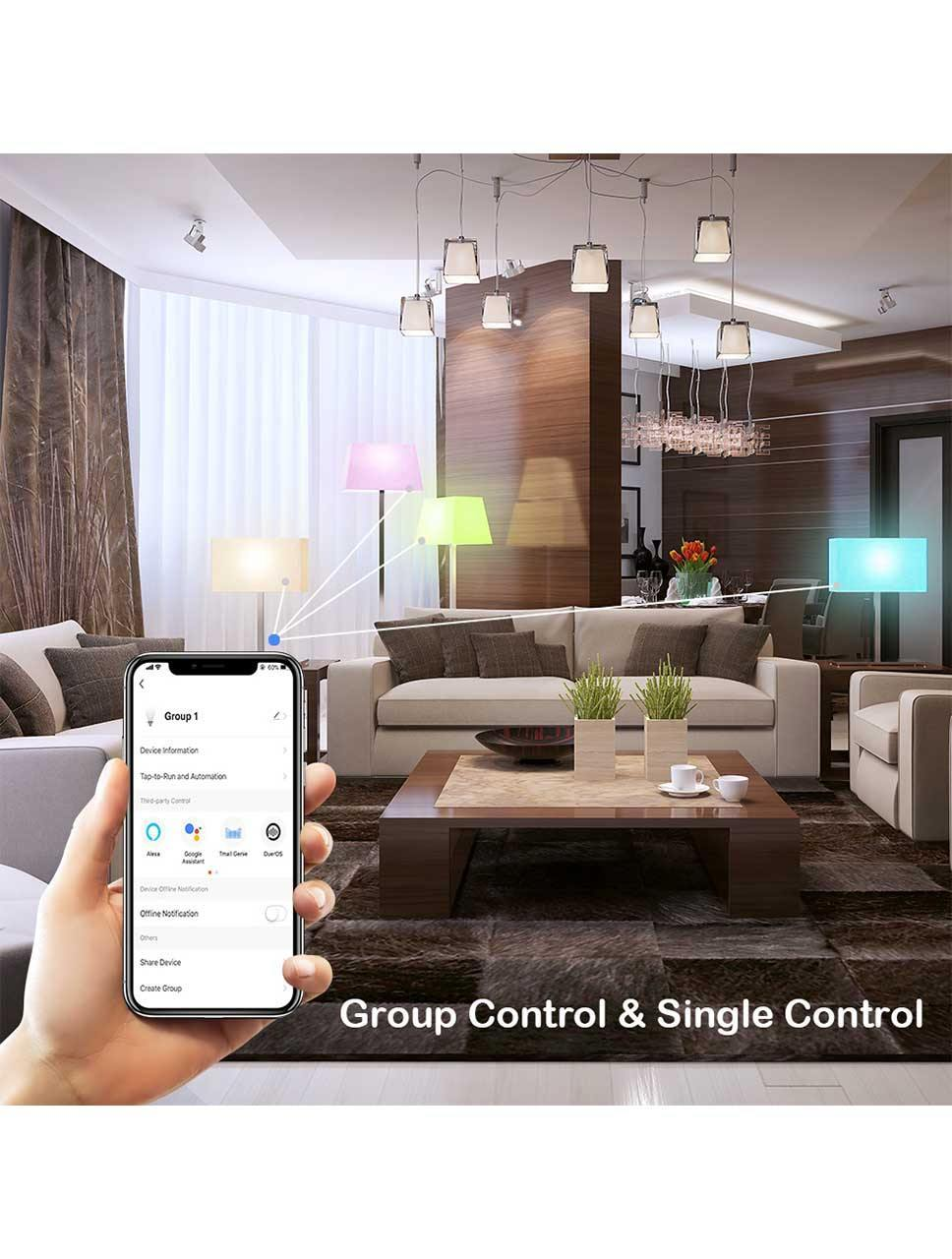 Elecwish Smart  LED Lights Bulbs