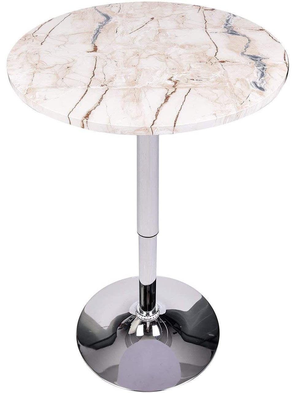Puloumis Round Kitchen Bar Table