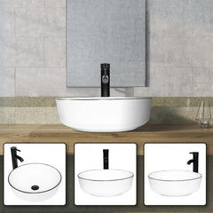 Ceramic Sink Vessel Sink - Elecwish