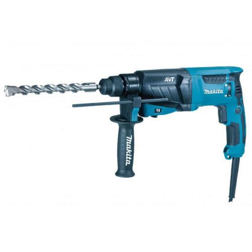 Makita HR2631F SDS-Plus Fúró-vésőkalapács 800W 2,4J LED AVT