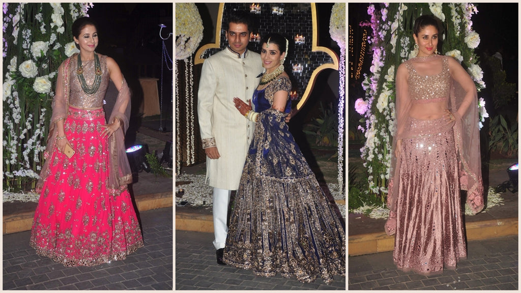 Earrings & Necklaces Outshined At Manish Malhotra's Niece's Wedding
