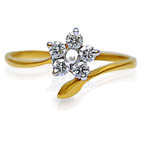 FLORAL STAR RING