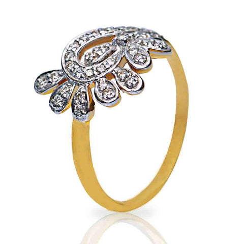 INVENTIVE DIAMOND RING