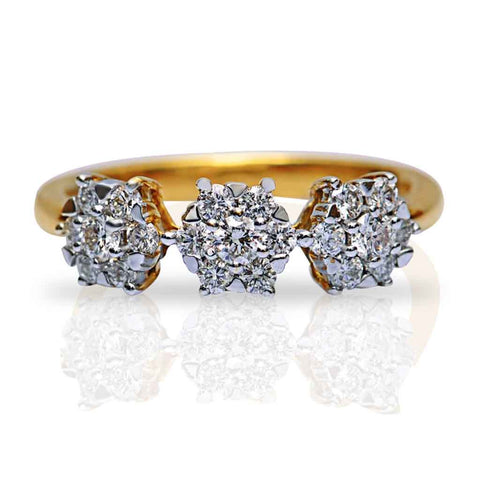 DIGNIFIED DIAMOND RING