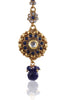Beautiful Maangtika in Blue stones and Golden combination MG18