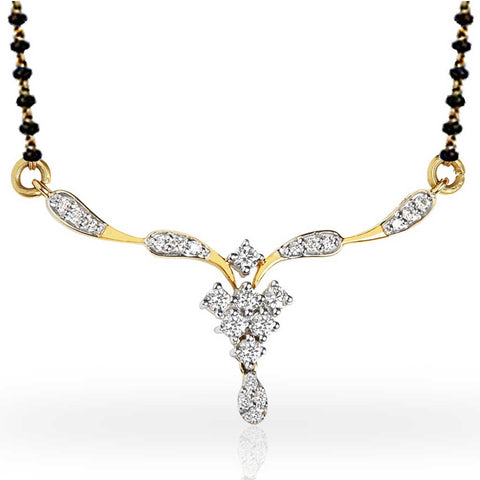 GLORIA DIAMOND MANGALSUTRA