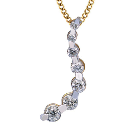 DIAMOND BEADS PENDANT