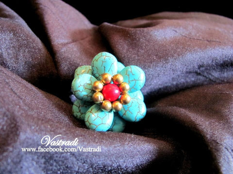 Adjustable Fancy Ring R122 By VastradiJewela