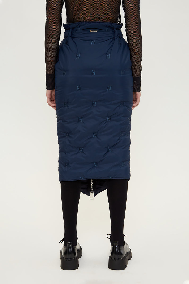 NEBESITE SKIRT - DARK BLUE