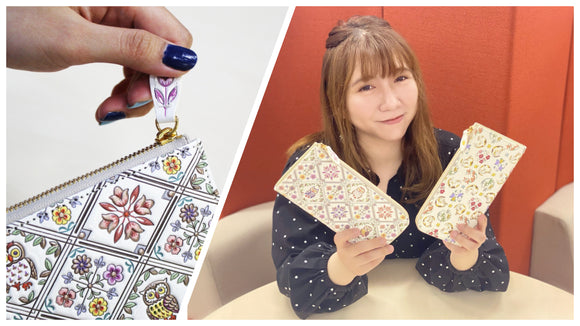 A wallet with a cute owl motif is recommended ♪