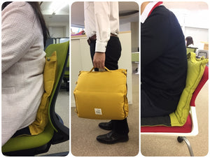 The words of mouth from Japanese users - Posture improvement just by sitting on the cushion ISUZABU