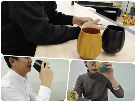The words of mouth from Japanese users - Unique and stylish KISEN CUP that combines wood and metal