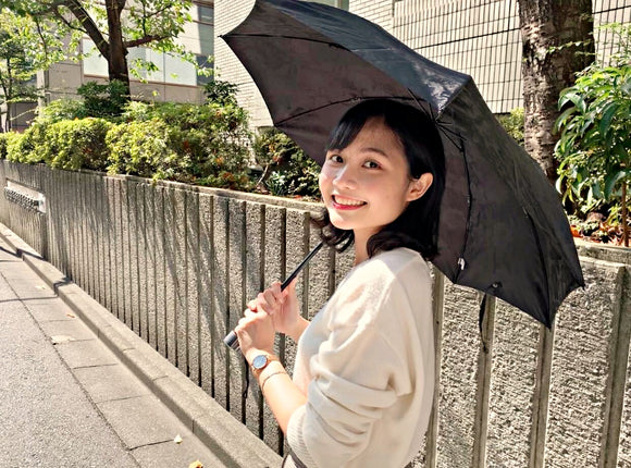 Use a parasol for elegant UV protection! Let's incorporate Japanese culture into our lifestyle