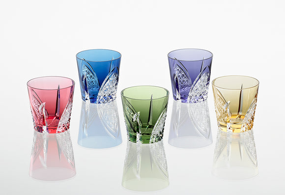 The Embodiment of Japanese Culture - The Edo Kiriko Sake 5 Glass Set