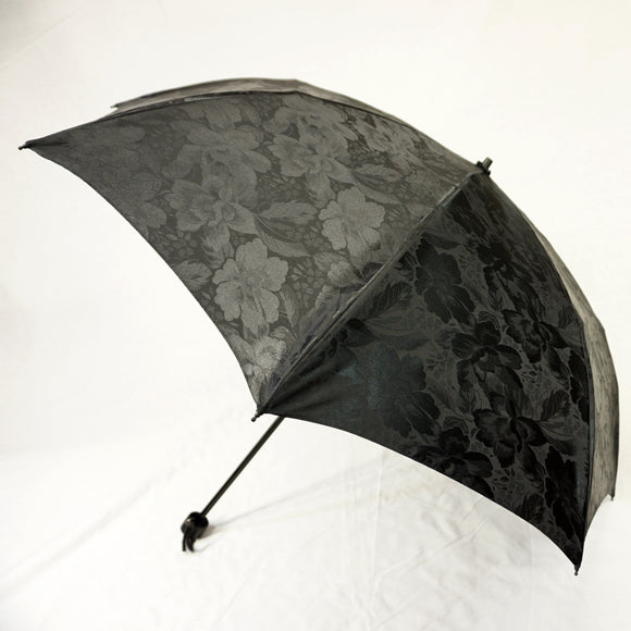 A Stylish Umbrella for Rain or Shine - Lightweight Foldable Jacquard Umbrella 【1016-06】
