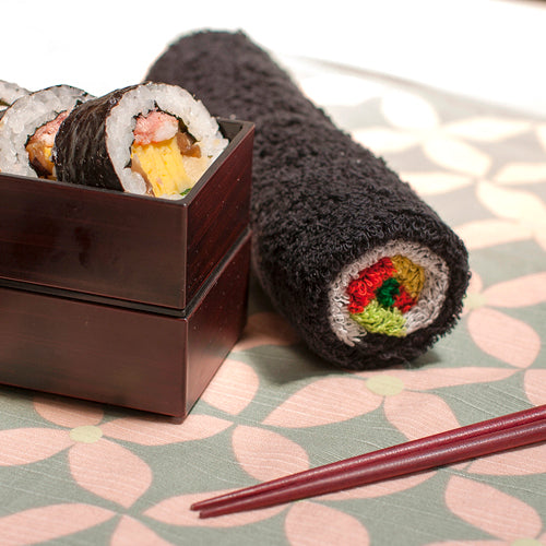 Seaweed Wrap Towel / Egg Wrap Towel (Set of 2)【0423-06】