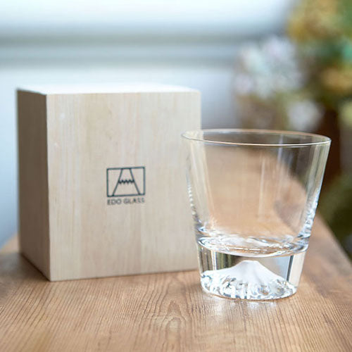 The Popular Mount Fuji Rock Glass is Now Available for Purchase from FUN! JAPAN!! Check Out the New Designs!【1016-10】