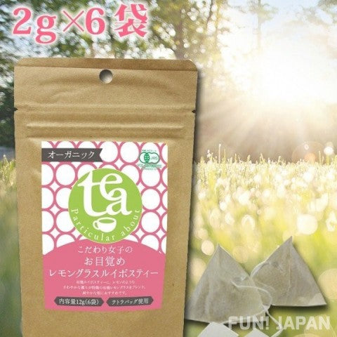 Discerning Women's Organic Lemongrass Rooibos Tea Bags (Set of 5)【F_038】