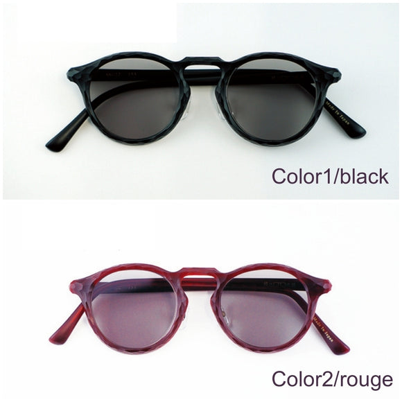 Grown-up sunglasses that connect the future's sustainability with traditional technology【1225-10】
