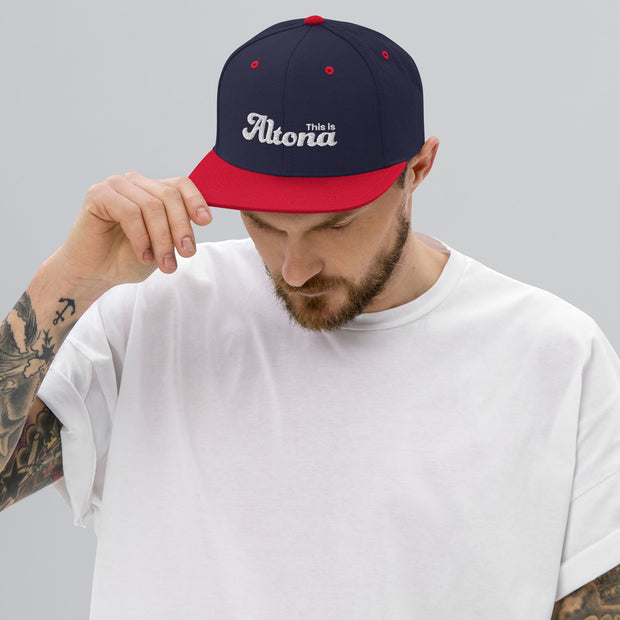 DZLA 'Love Local' This is Altona Special Edition Snapback Hat