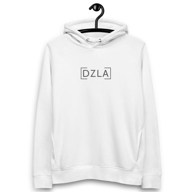 DZLA 'Our Planet' Blurred Lines Unisex Eco-hoodie