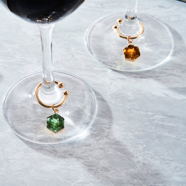 Bacchus Wine Charms