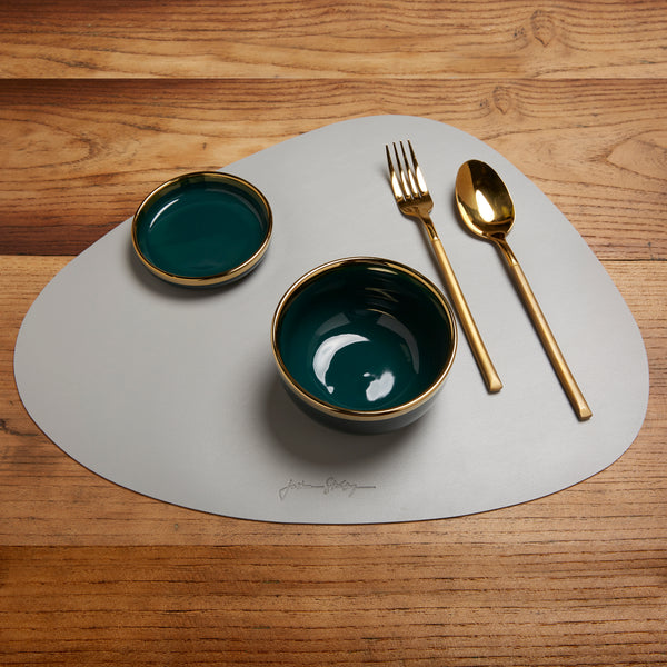 Ellipsis Placemat Set of Four in Green