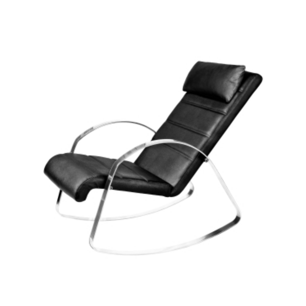 Archibald Full Leather Rocking Chair
