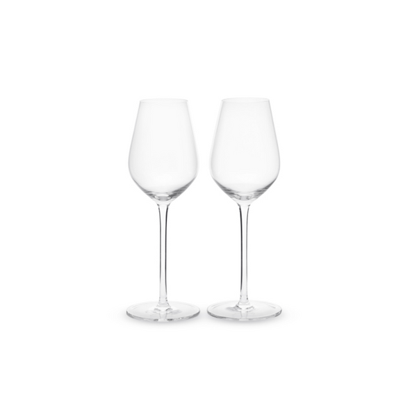 Crystal Sommelier White Wine Glass, Pair