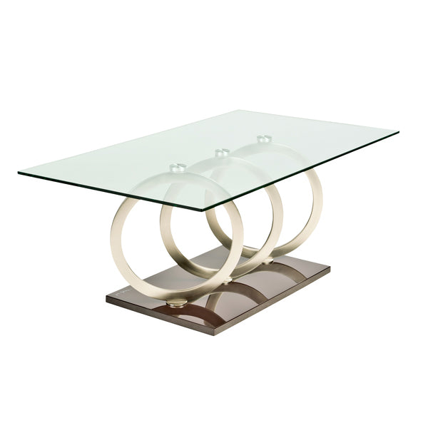Elswood Glass Coffee Table