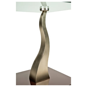 Henderson Glass End Table