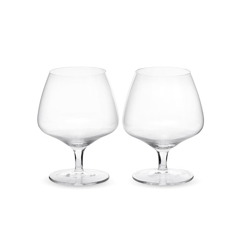 Crystal Sommelier, Snifter Stemware, Pair