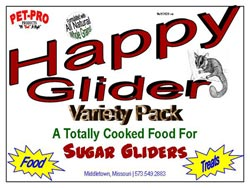 Happy Glider Food Variety Pack