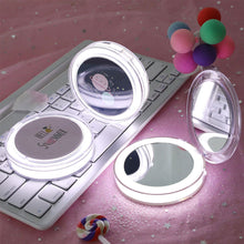 Load image into Gallery viewer, Mini LED Makeup Mirror - Look 4 Lifestyle
