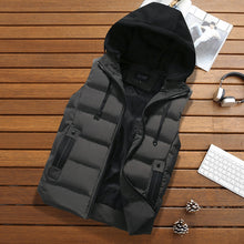 Load image into Gallery viewer, Mens hooded body warmer - Look 4 Lifestyle