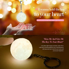 Load image into Gallery viewer, 3D Moon Lamp keyring - Look 4 Lifestyle