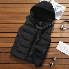 Load image into Gallery viewer, Black / XXXL Mens hooded body warmer - Look 4 Lifestyle