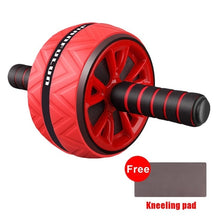 Load image into Gallery viewer, Red / United States Abdominal wheel & Kneeling pad - Look 4 Lifestyle