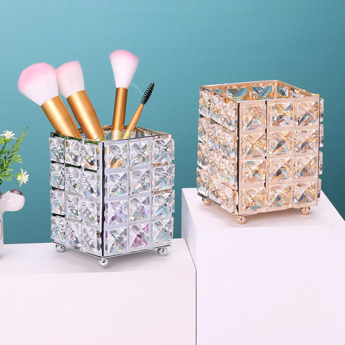 Crystal Makeup brush holder - Look 4 Lifestyle