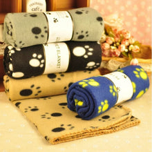 Load image into Gallery viewer, Paw Print Pet Blanket - Look 4 Lifestyle