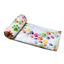 Load image into Gallery viewer, white / Other Paw Print Pet Blanket - Look 4 Lifestyle
