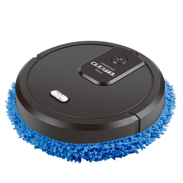 black / United Kingdom Smart Mop Humidifier Fully Automatic USB - Look 4 Lifestyle