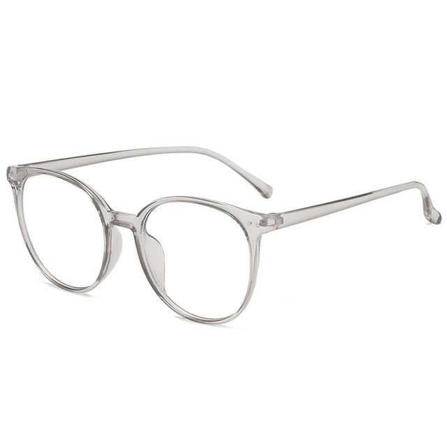 United Kingdom / Transparent grey Anti Blue Light Glasses Unisex - Look 4 Lifestyle
