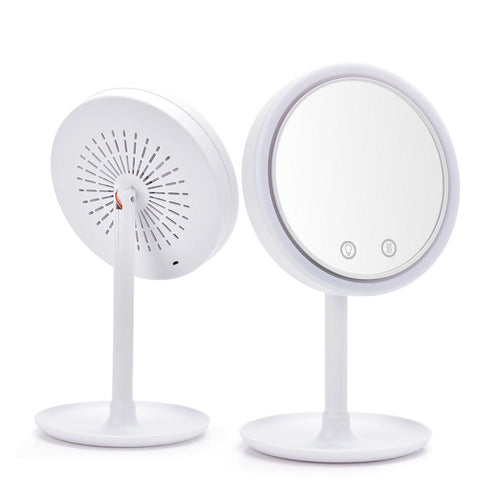 United Kingdom LED Mirror With Fan Home & travel - Look 4 Lifestyle