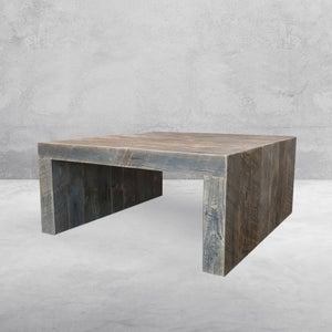 Reclaimed Wood Solid Wood Square Coffee Table - Free Shipping - Coffee Tables