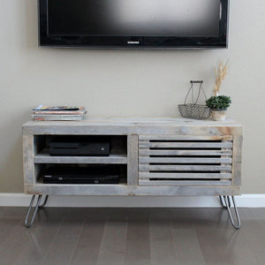 Reclaimed Wood Media Console - Free Shipping - Consoles