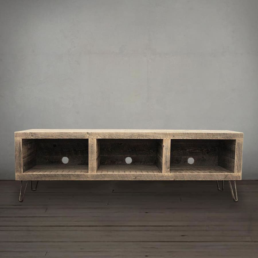Reclaimed Wood Media Console - Free Shipping - Reclaimed Wood Furniture