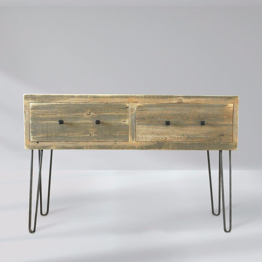 designer fashion 4983b 52467 Reclaimed Wood Media Console, Tall Television Stand With Drawers - Free  Shipping